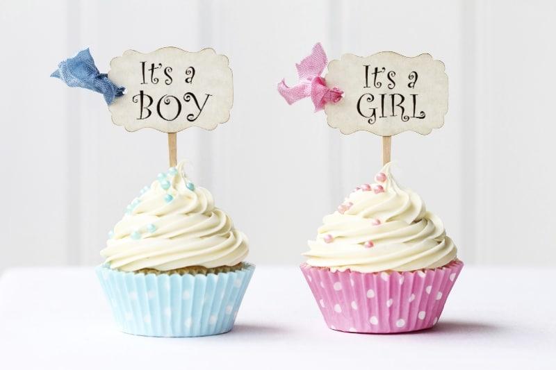 Cupcakes para Chá de Bebê