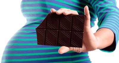 Chocolate Gravidez