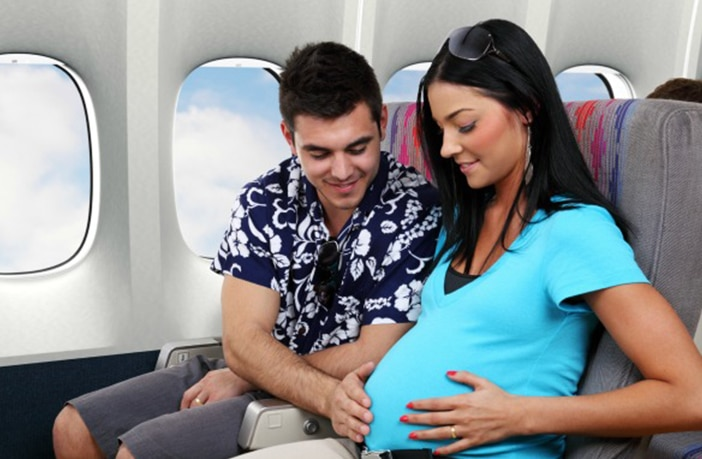 Mitos Gravidez - Viajar de Avião