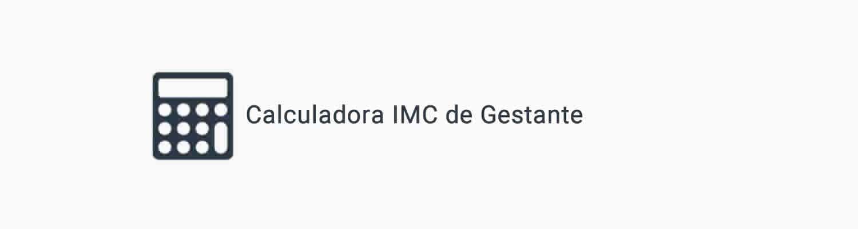 IMC de Gestante Calculadora Online